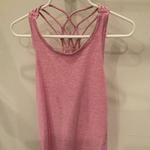 Girls Pink Ivivva tank